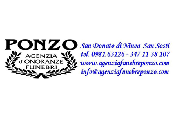 logo agenzia funebre ponzo